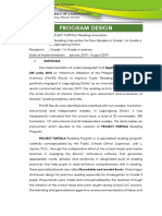 Project TORTOLA Program Design