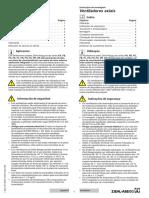 Manual Instalação e Operação - Português L- BAL-001-BRA