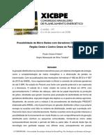 Possibilidade de Micro Redes Com Geradores Distribuídos Na Região Oeste e Centro Oeste Do Paraná