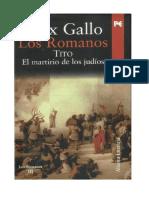 Gallo Max - Los Romanos 03 - Tito El Martirio de Los Judios