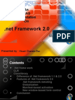 Presentation on .Net Framework 2.0 by Vikash Chandra Das