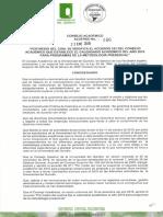 A.c.a.186- 2019 Se Modifica El Acuerdo 183 Del Consejo Academico Que Establece El Calendario Academico Del Año 2019 Para Programas Metodologia Presencial