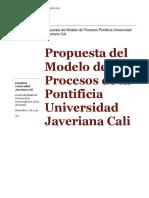 Modelo de Procesos Pujc