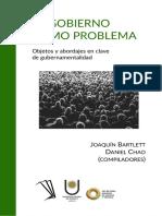 El gobierno a través de las problematizaciones. Bacchi. El gobierno como problema.pdf
