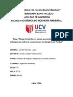 Evaluacion Del Riesgo Ambiental Tarea