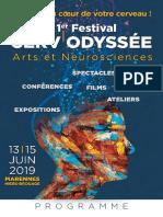 1er festival Cerv'Odyssée - arts et neurosciences