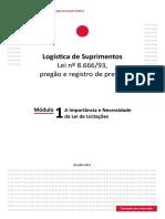 Módulo 1 Logistica Suprimentos Lei 8666
