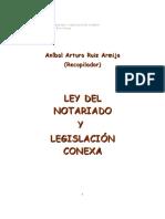 RuizArmijoAA-LeyDelNotariado&LegislaciónConexa