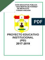 Proeycto educativo Institucional 2017-2019.