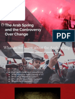 Arab Spring and the Controversy Over Change