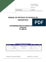 Fl-Ven-07 Determinacion de Dureza Calcica