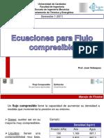 Ecuaciones Para Flujo Compresible