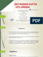 Metodo Runge Kutta 4to Orden2