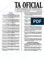 Gaceta Oficial Seniat Actividad Económica