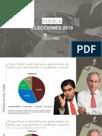 Falta poco a Enrique Cárdenas para alcanzar a Barbosa en elección de Puebla