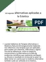 Terapias Alternativas Aplicadas a La Estetica