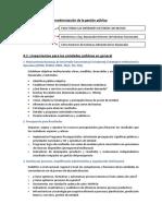 Lineamientos Para La Modernización de La Gestión Pública