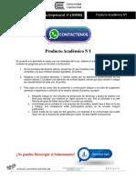 Derecho Empresarial II Producto Académico N°1
