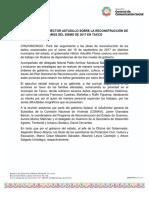 09-05-2019 EVALÚA AVANCES HÉCTOR ASTUDILLO SOBRE LA RECONSTRUCCIÓN DE DAÑOS DEL SISMO DE 2017 EN TAXCO.
