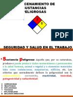 ALMACENAMIENTO DE SUSTANCIA PELIGROSAS