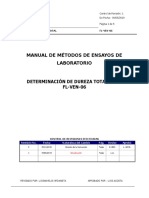 Fl-Ven-06 Determinacion de Dureza Total