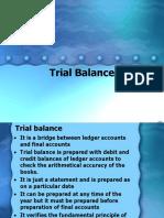 7. Trial Balance