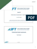 Level II Alt Summary Slides