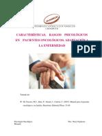 Características, Rasgos Psicológicos en Pacientes Oncológicos. Adaptación a La Enfermedad