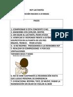 PASOS RCP LACTANTES