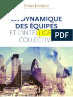 Pages de La Dynamique Des Equipes Et l'Intelligence Collective - Olivier Devillard ((2017)