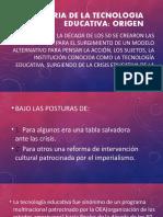 Historia de La Tecnologia Educativa