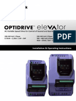 Optidrive P2 Elevator User Guide V2.30