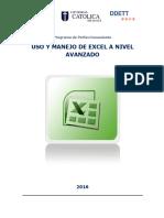 1237-8563-29 Uso y Manejo de Excel a Nivel Avanzado