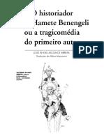 O historiador Cid Hamete Benengeli