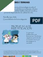Ciencia y Tecnologia Diapositiva
