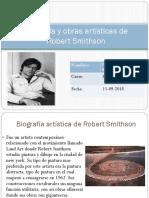 Biografía y obras artísticas de Robert Smithson.pptx