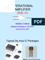 Operational Amplifier(Phe 10)