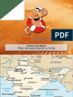 Exportacion de especias a India