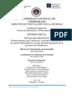 Informe Vinculación UNACH