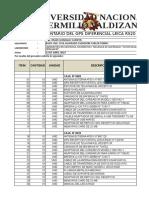 Inventario Del Gps Rs20