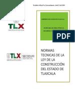 Normas Técnicas de Tlaxcala