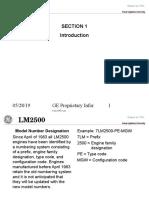 CURSO DE INTRODUCCIÓN A TURBINAS LM2500