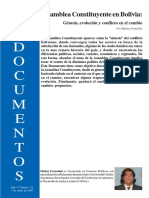 CTROL. LECTURA - Asamblea Constituyente