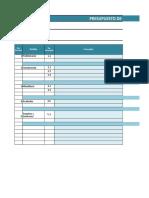 Planilla de Excel Para Presupuesto de Obra (1)