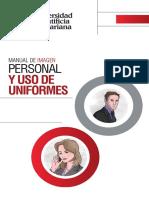 Manual de Imagen Personal y Uso de Uniformes