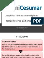 01-Historico Da Homeopatia