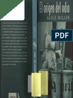 Alice Miller - El origen del odio
