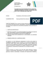 Informe Practicas en Organización de Archivo de Gestión (EMAF) F