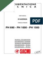 Manual Prensa SACMI
