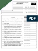 Checklist Nr 35